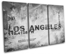 Los Angeles LA City Typography - 13-2119(00B)-TR32-LO